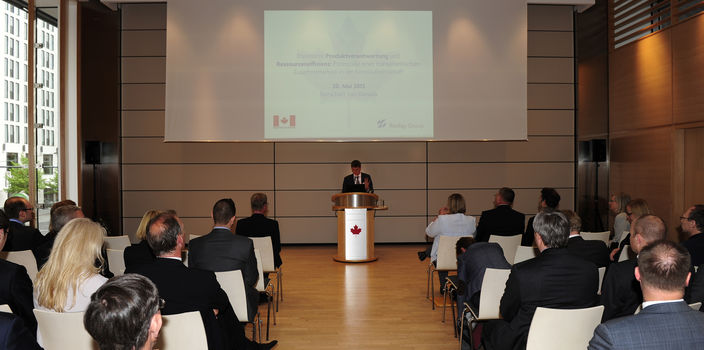 Reclay Group and the Canadian Embassy held a Parliamentary Evening